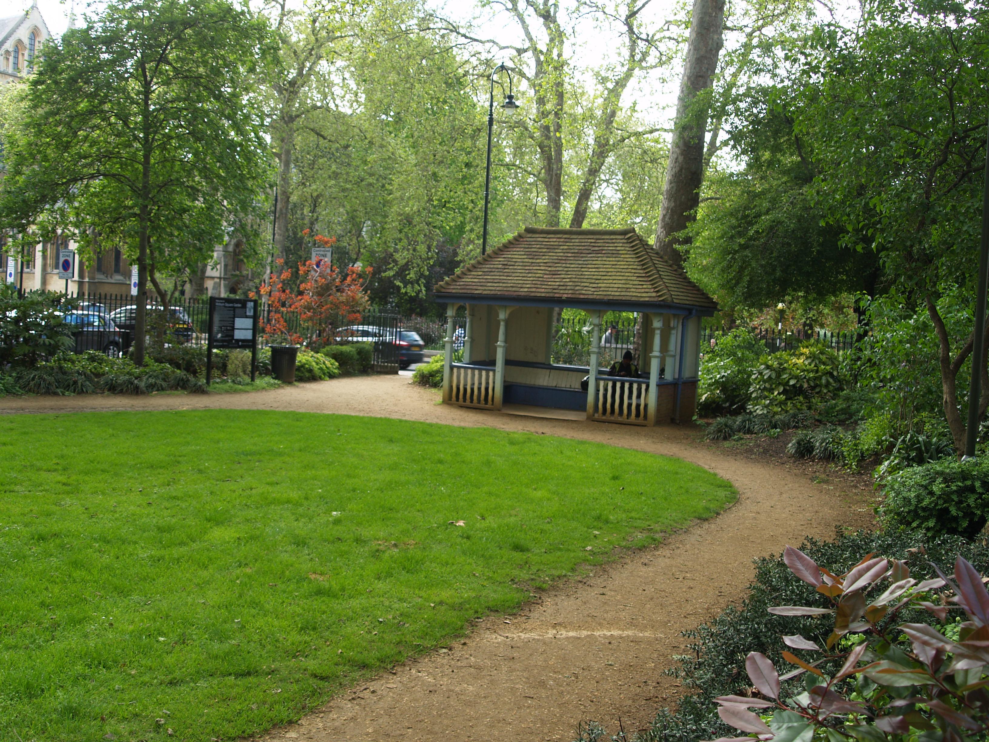 Woburn square bloomsbury squares gardens for Square garden designs