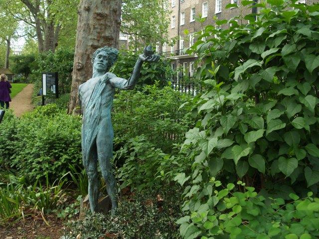 Woburn Square statue