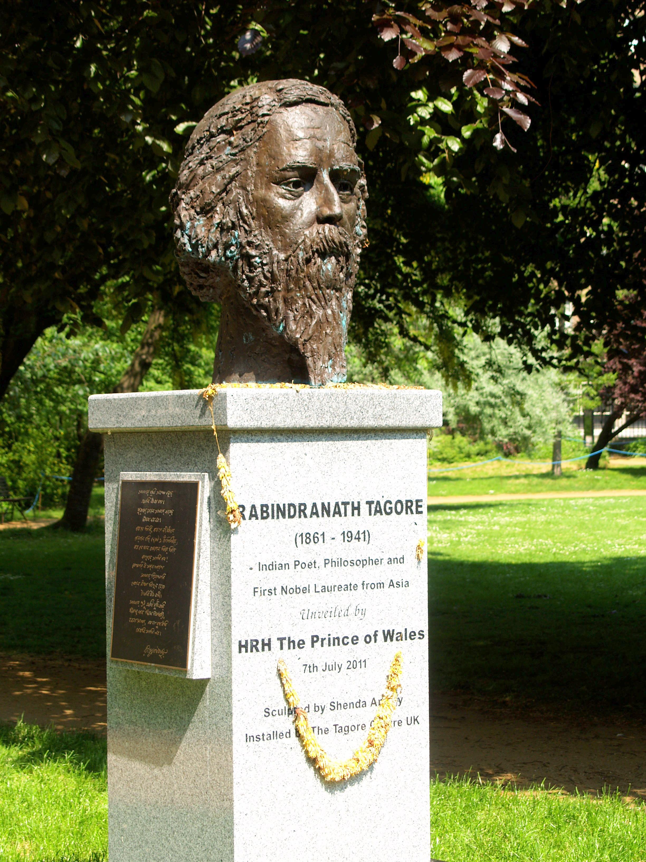 Rabindranath Tagore Bloomsbury Squares Amp Gardens
