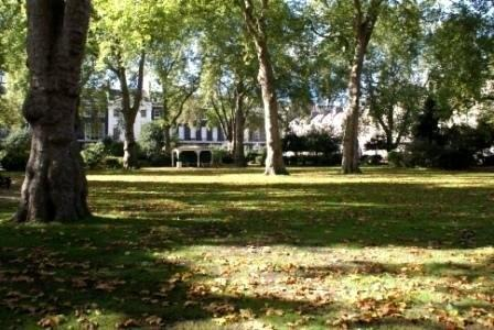 Autumn in Bedford Square