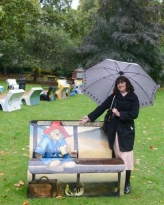 Paddington book bench