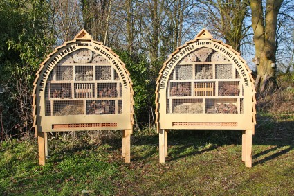 Russel Square Insect Hotels (2)